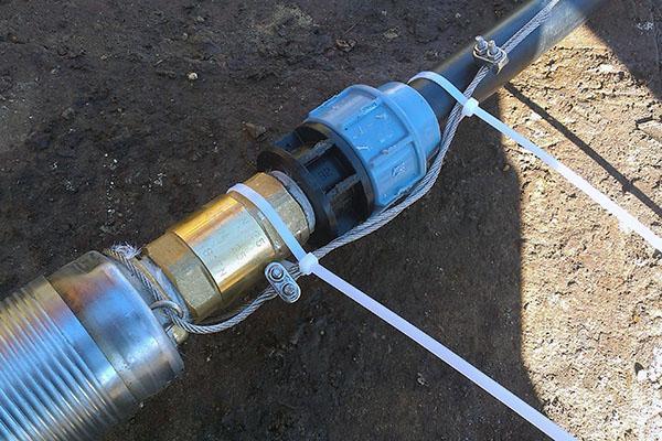 Замена насоса в скважине как достать старый и поставить новый насос